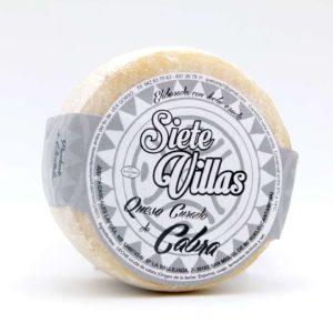 Comprar queso de Cantabria curado de cabra siete villas