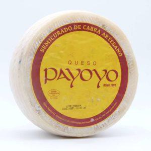 Comprar queso payoyo cabra semicurado artesano gourmet