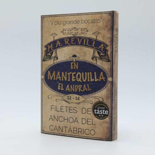 Lata de Anchoas Revilla en mantequilla hansa