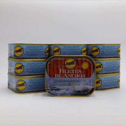 oportunidad 10 latas de anchoas de Santoña Hoya XXL 360 grs