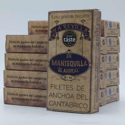 Oportunidad 10 octavillos de anchoasdeluxe revilla en Mantequilla