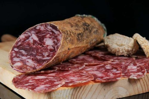 Comprar salchichón ibérico de bellota online