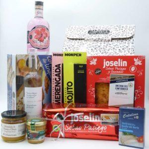 Estuche de productos de Cantabria Anjana 2019