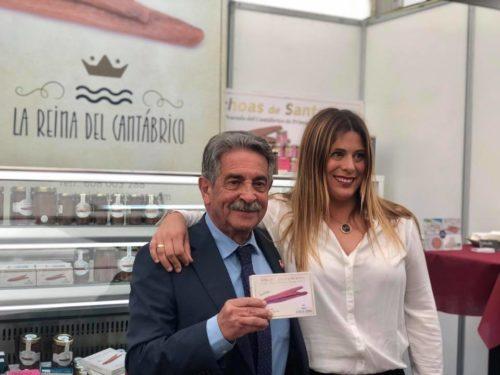 Maite Perez de anchoas la reina del cantábrico y Revilla