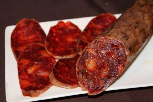 Comprar chorizo iberico bellota online
