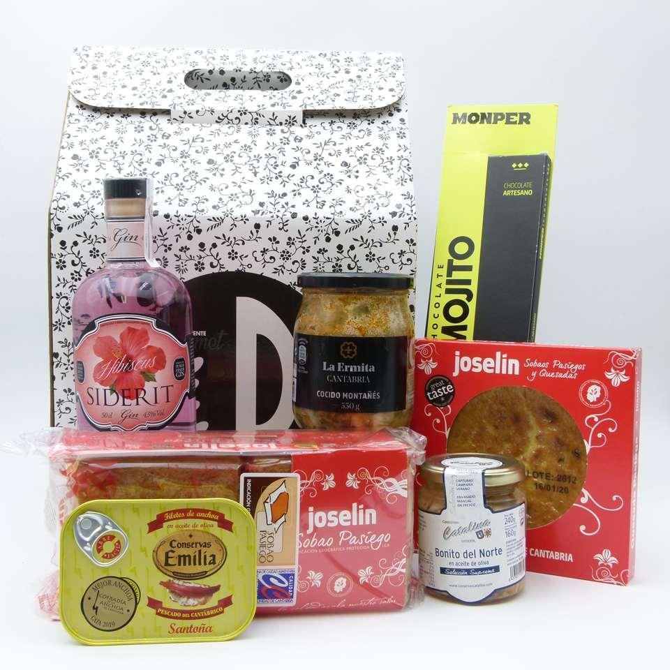 Lote de productos de Cantabria 2019