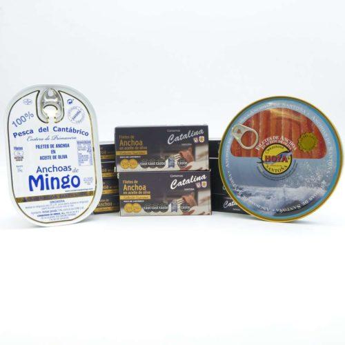 Las 3 mejores anchoas de Santoña 2020