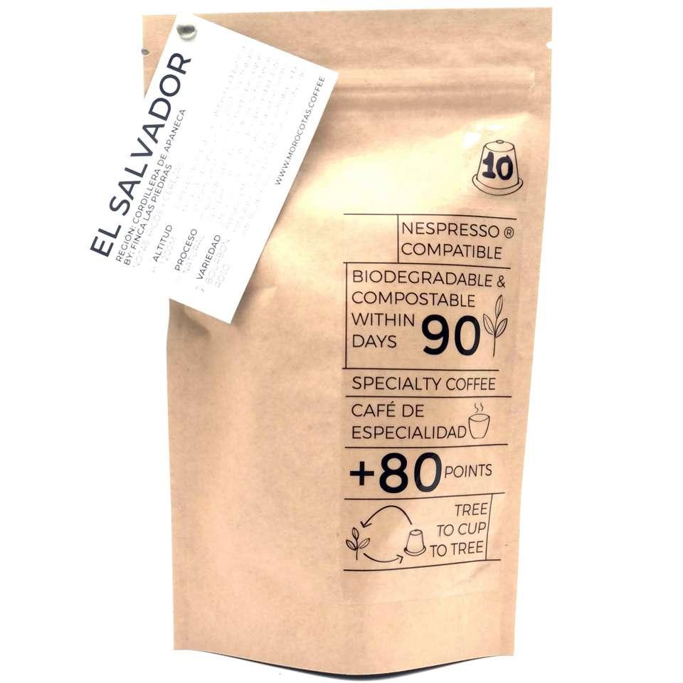 Cafe de origen en capsulas compostables 10 unidades