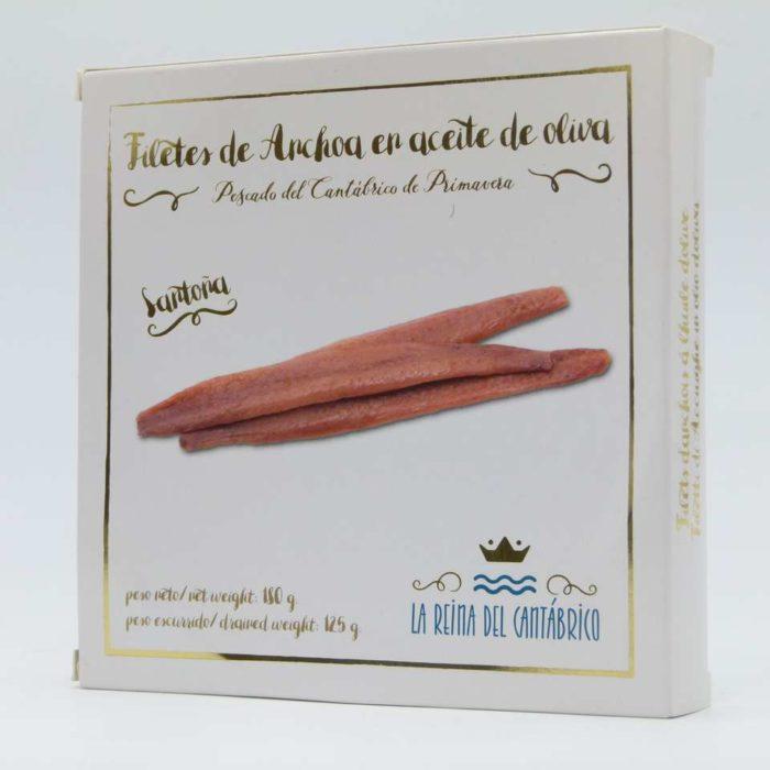 Pandereta de anchoas La Reina del Cantábrico