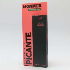Chocolate picante Monper tableta 85 grs