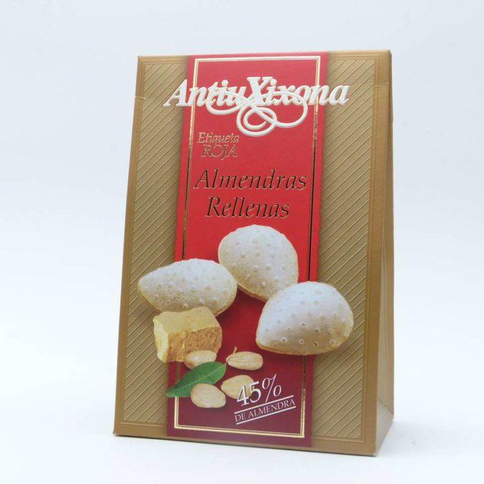 Comprar barato Almendras rellenas Antiu Xixona etiqueta roja 150 grs