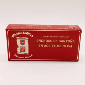 Comprar octavillo de anchoas Solano Arriola 50 grs a domicilio