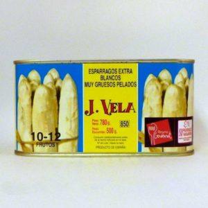 Espárragos blancos de Navarra Joaquín Vela 10-12 frutos
