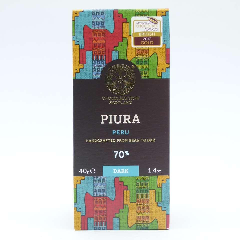 Chocolate Tree chililique Perú 70% choctree tableta 40 grs