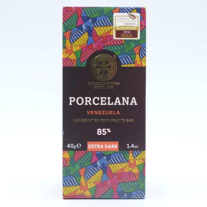 Chocolate Tree Porcelana venezuela 85% cacao tableta 40 grs