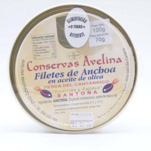 conservas Avelina edición limitada pandereta 100 grs