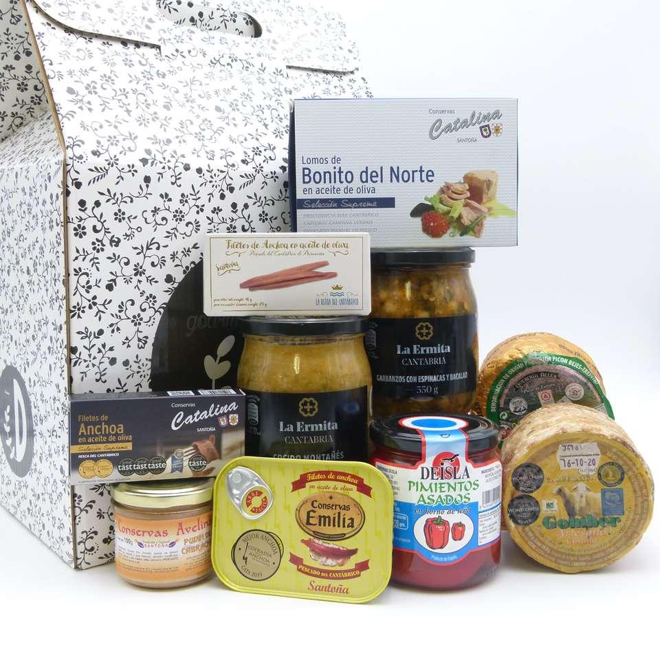 Estuche de productos de Cantabria Tentirujo
