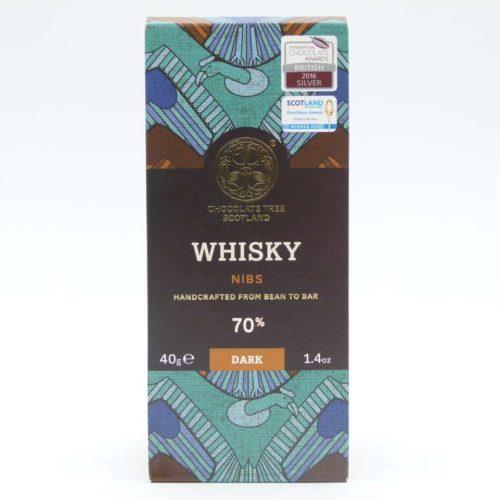 Chocolate Tree Whisky y Nibs choctree tableta 40 grs