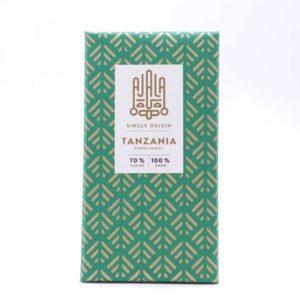 Chocolate Ajala Tanzania 70% cacao tableta 45 grs