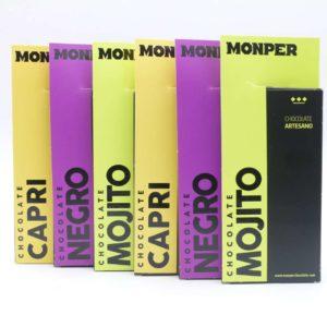 Pack ahorro 3 sabores y 6 tabletas Monper