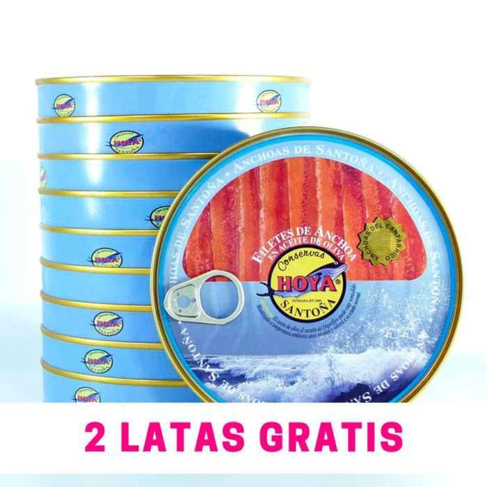 Anchoas Hoya 2 latas gratis de regalo