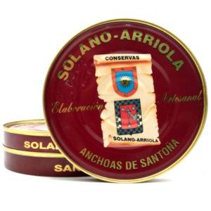 Promoción 3 latas de anchoas Solano Arriola 180 grs