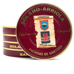 Oferta 5 latas de Anchoas solano Arriola 180 grs