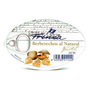 Comprar berberechos Frinsa 20/30 piezas al natural