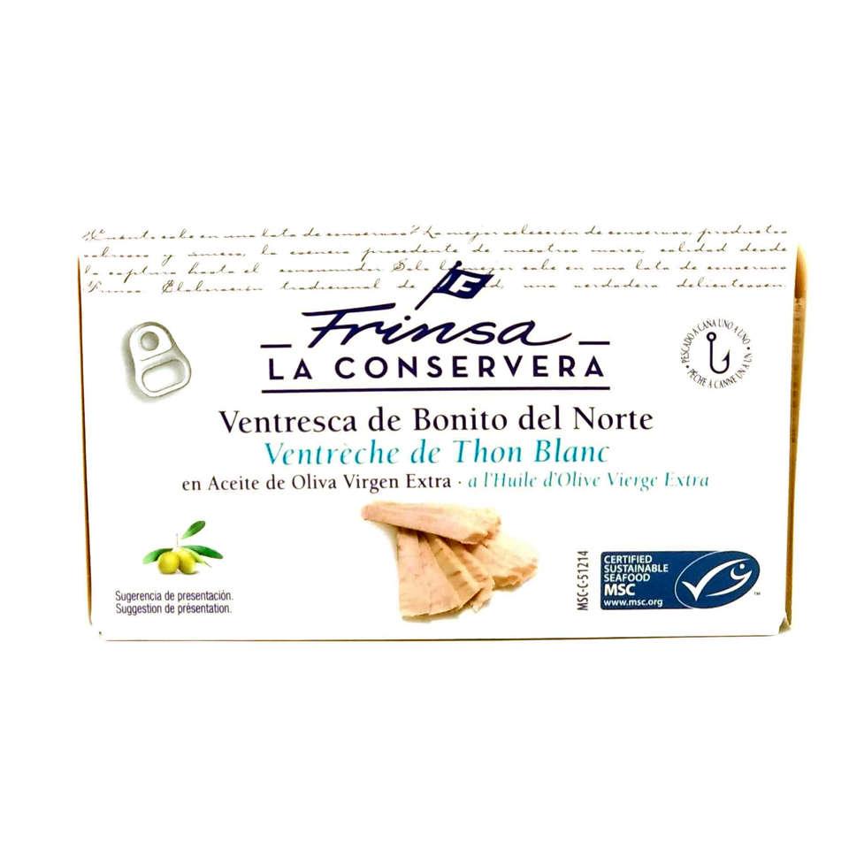 Ventresca de bonito Frinsa selección gourmet OL120