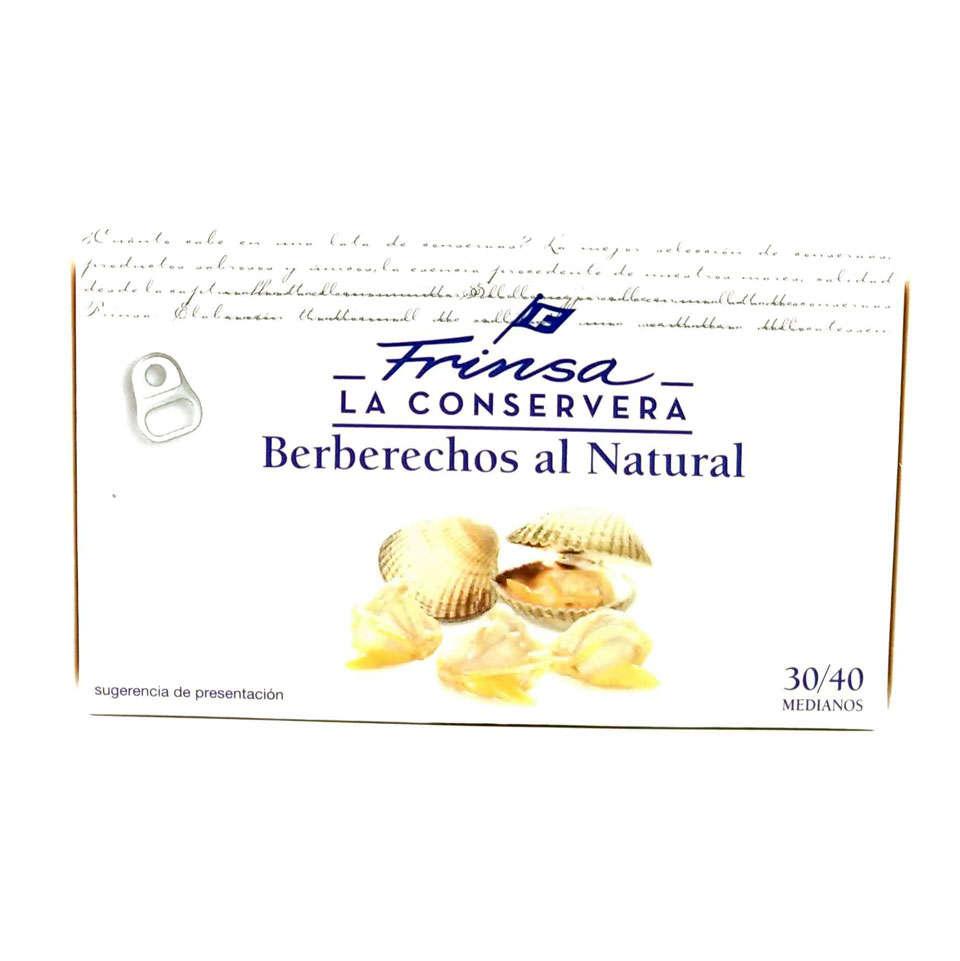 Comprar berberechos al natural Frinsa 30/40 piezas