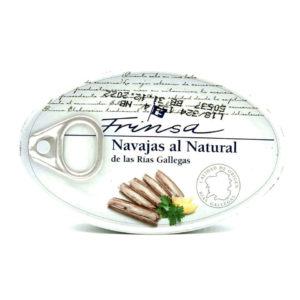 Comprar navajas al natural conservas Frinsa