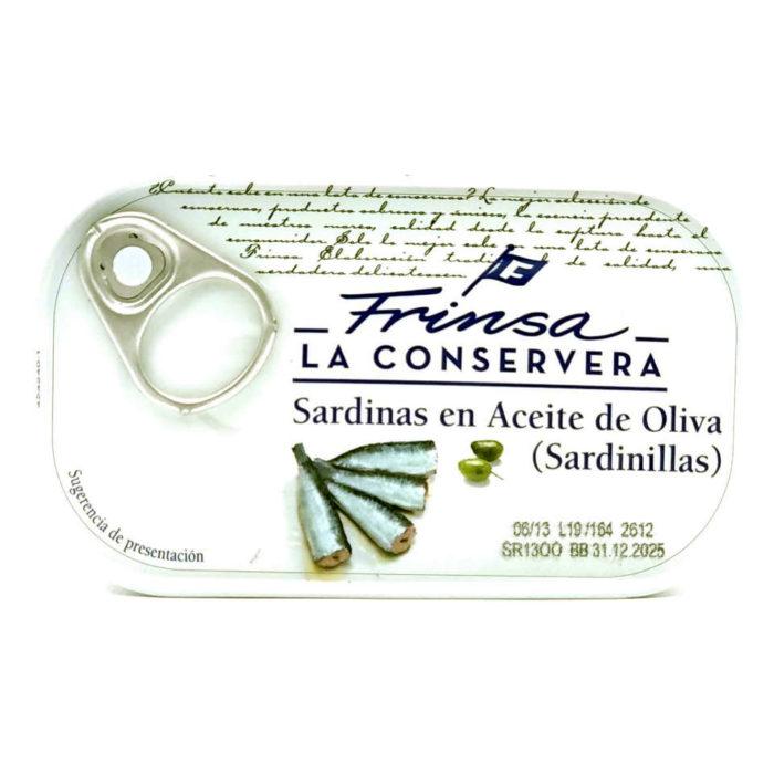 Sardinillas en aceite de oliva conservas Frinsa