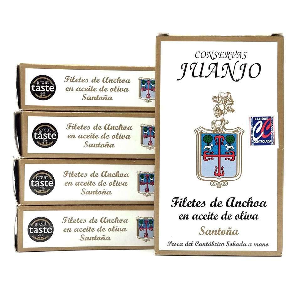 OCASIÓN 5 latas de Anchoas Juanjo