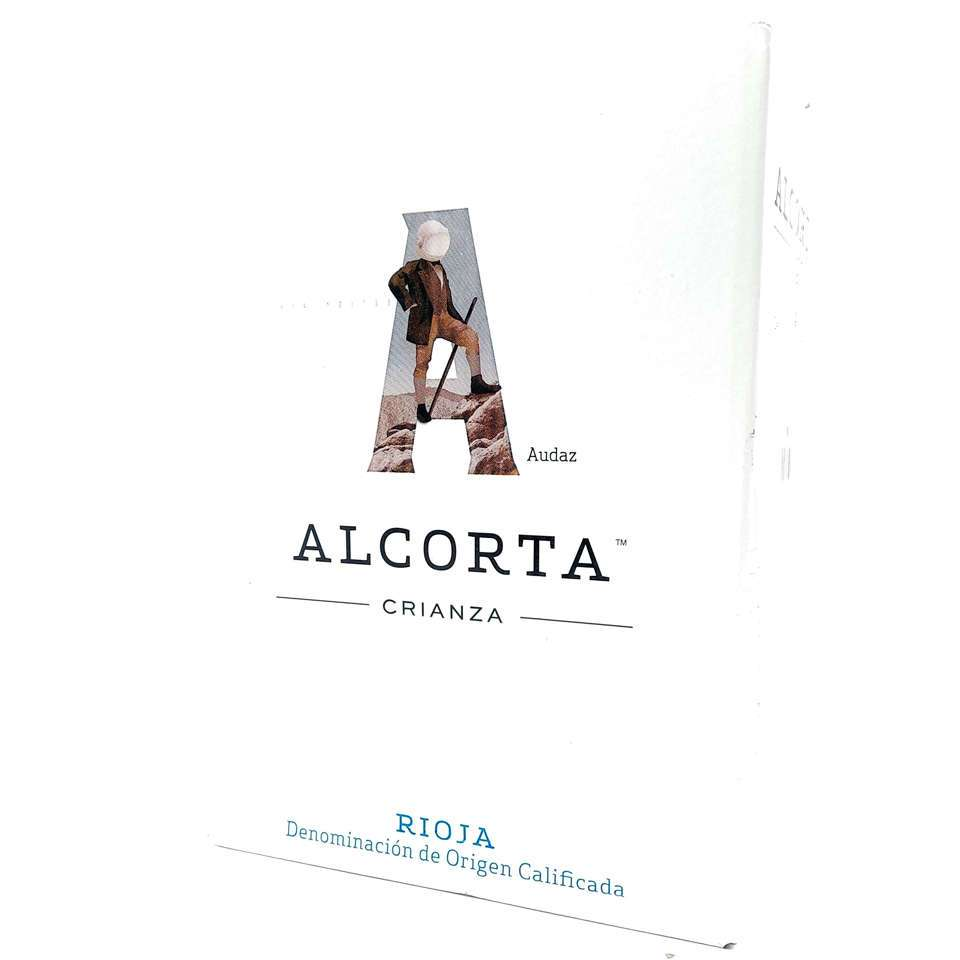 Oferta caja de 6 botellas Alcorta crianza tinto Rioja
