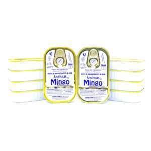 Ocasión 10 latas de 10 filetes anchoas Mingo