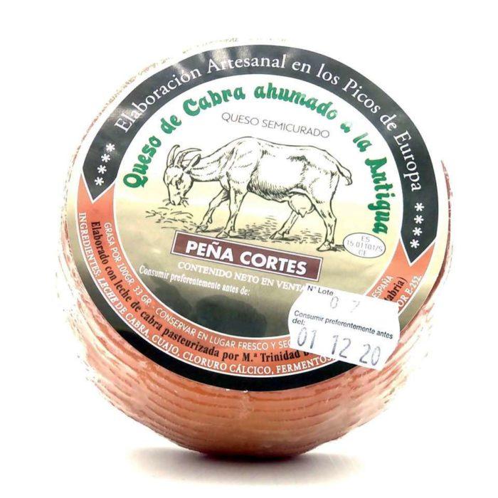 Queso de cabra ahumado de Áliva Peña Cortés
