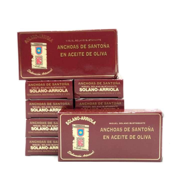 OPORTUNIDAD 10 octavillos anchoas Solano Arriola
