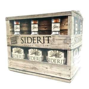 Oferta caja de 6 botellas de Ginebra Siderit