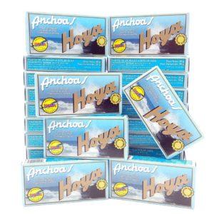 Anchoas Hoya 20 latas de 50 grs +【5 de REGALO】