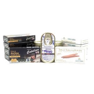 【CHOLLO】Selección de octavillos de anchoas de Santoña