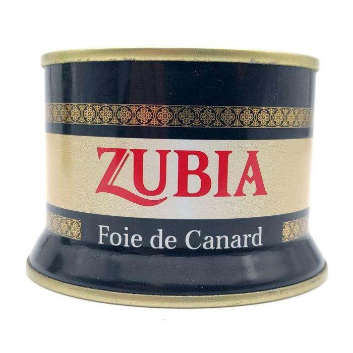 comprar foie gras de pato ZUBIA lata 130 gramos