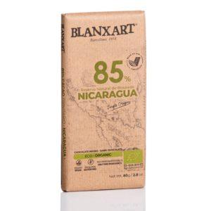 Blanxart chocolate 85% cacao criollo trinitario Nicaragua tableta de 80 grs