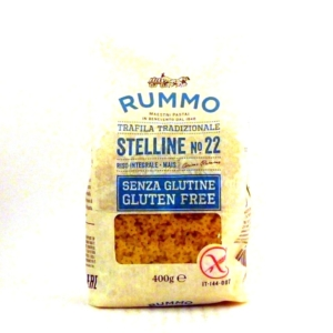Pasta italiana Rummo Stelline sin gluten