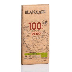 Blanxart chocolate 100% cacao Perú