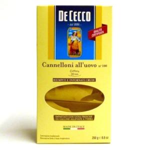 Pasta italiana De Cecco Cannelloni n 100 online