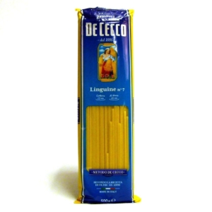 Pasta italiana De Cecco Linguine n 7 online