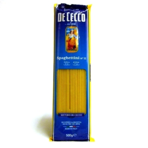 Pasta italiana De Cecco Spaguetti n 11 online