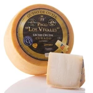 Comprar online queso curado de leche cruda de oveja Pago los Vivales