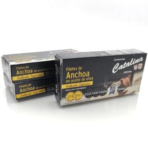 Pack ahorro 3 octavillos de anchoas Catalina