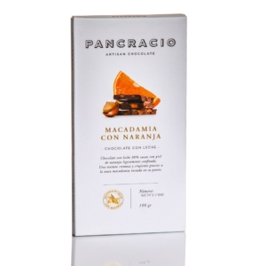 Pancracio chocolate macadamia con naranja online